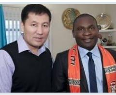 Visite officielle du club de Shakhtar Karanganda, Kazakhstan