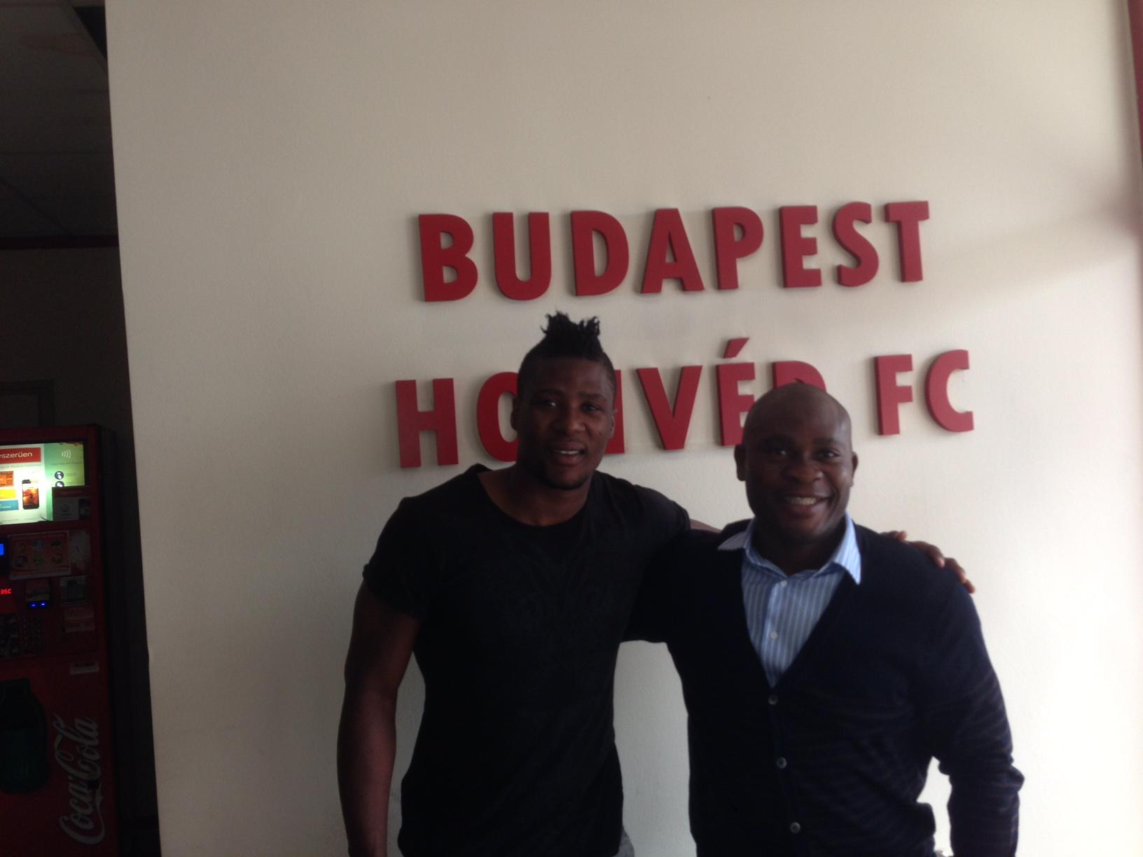 Daniel Chrysostome & Francis Kone - Budapest Honved FC