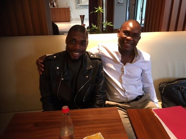 Jonathan Nanizayamo & Daniel Chrysostome - Paris FC