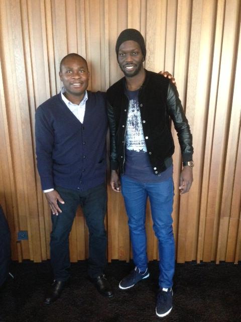 Daniel Chrysostome & Striker Oumar Diaby MFK Kosice