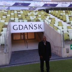 Visite du club de Lechia Gdansk, en Pologne